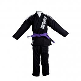 Kimono Jiu-jitsu  Preto  Cicero Costha  Adulto