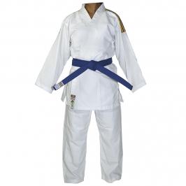 Kimono Judô Reforçado Kids Branco Infantil