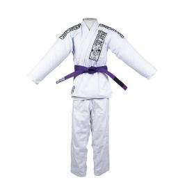 Kimono Jiu-jitsu Equipe Cicero Costha Branco Adulto